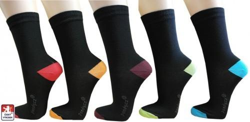 ac2ad83ae97 Ponožky PONDY.CZ barevné špice a paty 37-41