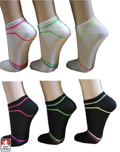 Ponožky snížené NEON b01aca6182