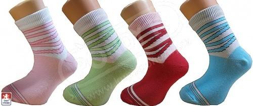 Dětské ponožky PONDY.CZ elastické vzorované a81f12494f