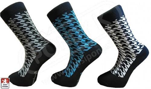 Ponožky PONDY.CZ pánské design KOHOUTÍ STOPA 39-47 a6924c0b30