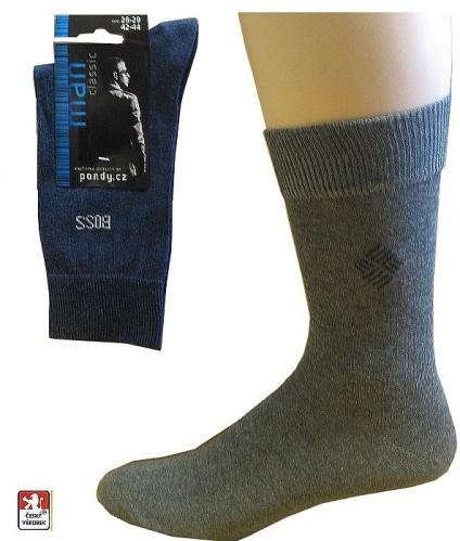 Ponožky PONDY.CZ pánské s drobným vzorem 39-49 83d1779c5f