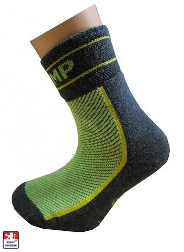 Dětské ponožky PONDY.CZ polofroté JUMP sport deb2272565