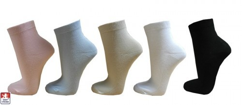 81bceb5da68 Dámské ponožky PONDY.CZ kotníkové ELASTIK 37-41
