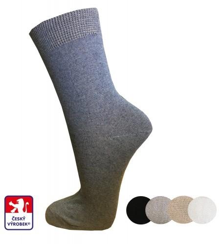 Ponožky dámské PONDY.CZ hladké 37-41 af8c65dcd9