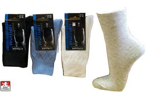 Dámské klasické ponožky PONDY.CZ 37-41 63ee107b2d
