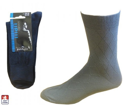 6f3f2f97c1b Pánské ponožky PONDY.CZ LUX 39-47