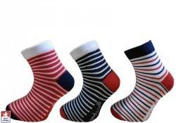Dětské ponožky elastické MARINA proužky - Ponožky dětské  a60654fd57