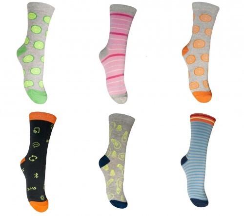 Ponožky dětské vzorované vel.37-39 de61b4a41f