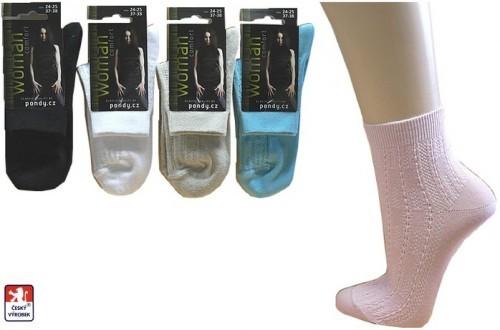 c3e62acfd22 Ponožky PONDY.CZ dámské krajkové 37-41