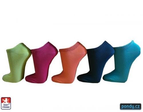 Dámské snížené ponožky COLOR a754d13c30