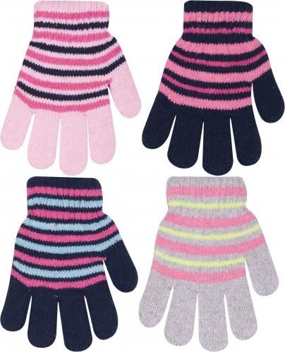 666d808bb3d Dětské dvouvrstvé prstové rukavice s vlnou