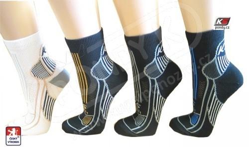 Multisportovní ponožky - běh 747fb70dc5